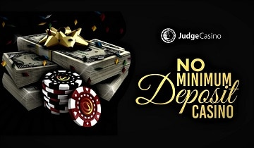 No Minimum Deposit Casinos Best Minimum Deposit Casino List