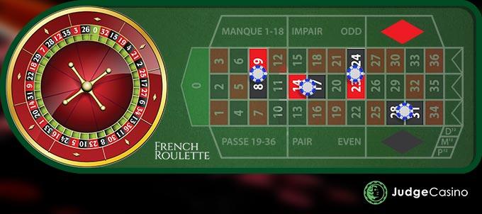 Inside Betting Types - Split-Bet