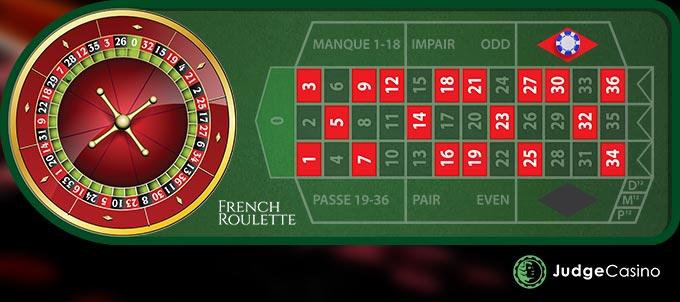 Red/black (rouge/noir) Bets