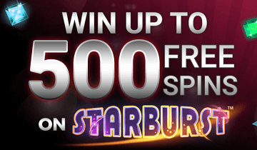 Incredible Spins Welcome Offer