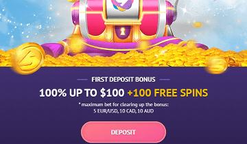 Slotum Welcome Bonus