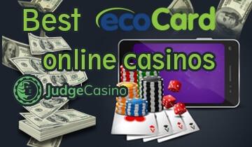 Ecocard online casinos