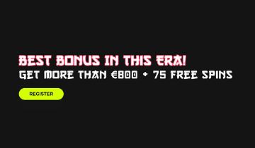 Spin Samurai welcome bonus
